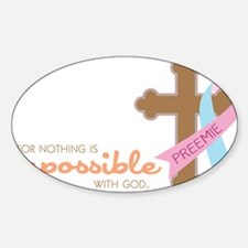 Nothing Is Impossible Decal