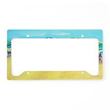 Summer Color - Beach License Plate Holder