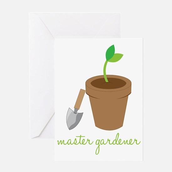 Master Gardener Greeting Card