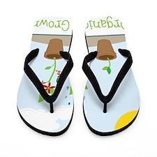 Organically Grown Flip Flops