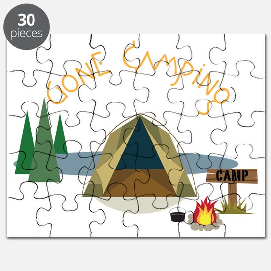 Gone Camping Puzzle