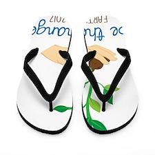 Be The Change Flip Flops