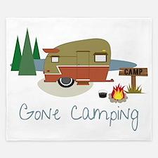 Gone Camping King Duvet