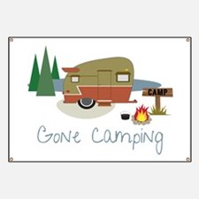 Gone Camping Banner