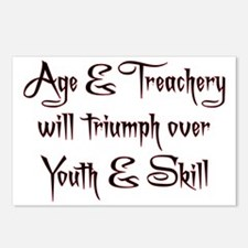 Age  Treachery Postcards (Package of 8)