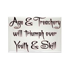 Age  Treachery Rectangle Magnet