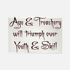 Age  Treachery Rectangle Magnet