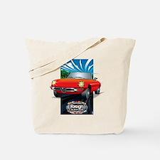 Foreign Auto Club - Framed Italian 3 Tote Bag