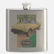 Foreign Auto Club - Framed British 1 Flask