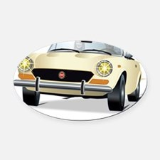 Foreign Auto Club - Italian Spider Oval Car Magnet
