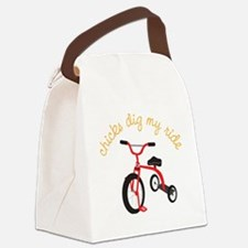 My Ride Canvas Lunch Bag