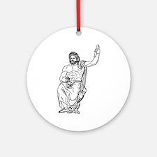 Zeus Ornament (Round)
