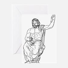 Zeus Greeting Cards