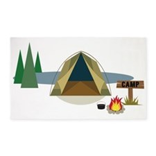 Camping 3'x5' Area Rug