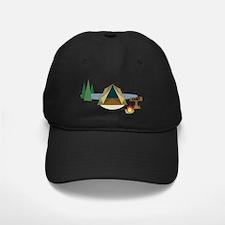 Camping Baseball Hat