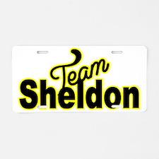 Team Sheldon Aluminum License Plate