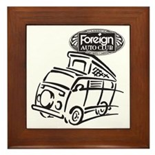 Foreign Auto Club - German Icon 4c Framed Tile