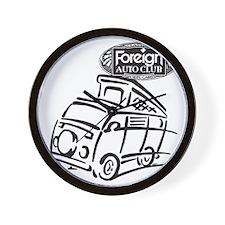 Foreign Auto Club - German Icon 4c Wall Clock