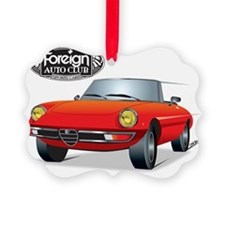 Foreign Auto Club - Red Italian 1 Ornament