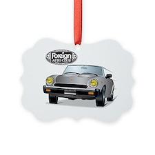 Foreign Auto Club -  Grey Italian Ornament