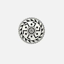 Greek Art - Decorative Circle Mini Button