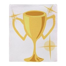 Trophy Cup  Throw Blanket