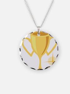 Trophy Cup  Necklace