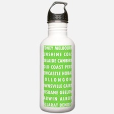 Celery AU Cities Water Bottle