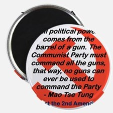 ALL POLITICAL POWER COMES FROM THE GUN Magnet