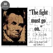 The fight must go on Puzzle