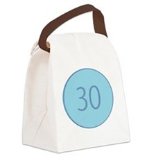 Thirty Canvas Lunch Bag