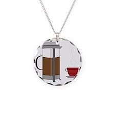Coffee Press Necklace