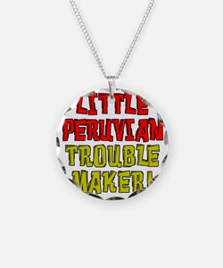 Little Peruvian Trouble Make Necklace