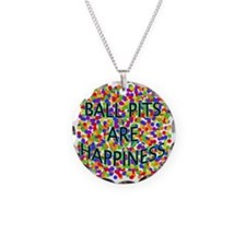 Ball Pits Are Happiness Necklace