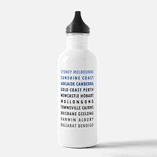 Austalian Cities (B) Water Bottle