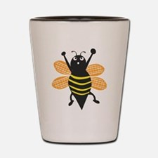 Bumble Bee Shot Glass