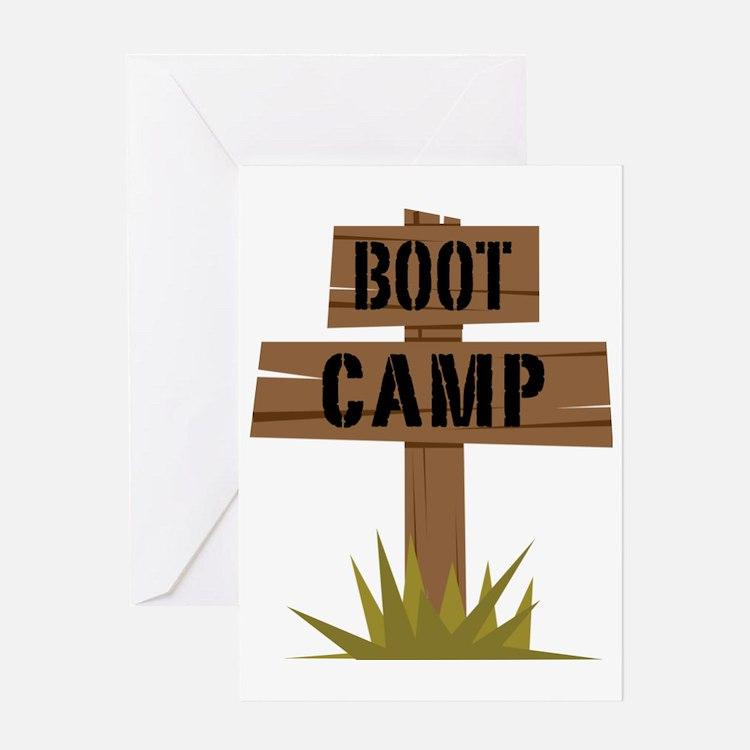 Boot Camp Greeting Card