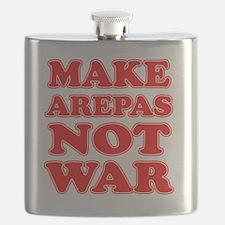 Make Arepas Not War Flask