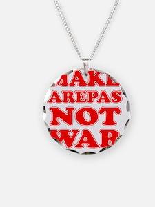 Make Arepas Not War Necklace