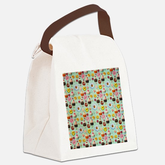 Sweets Canvas Lunch Bag