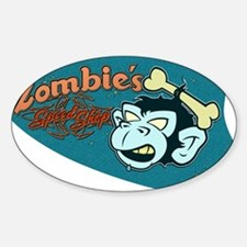 ZOMBIES SPEED SHOP Decal