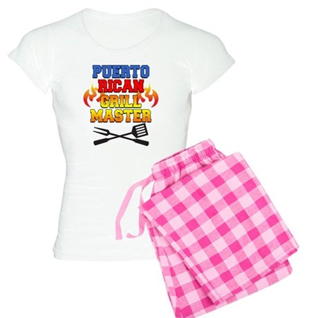 Puerto Rican Grill Master A Women's Light Pajamas