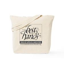 BOMHlogo_BWtrans Tote Bag