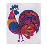 Rooster blanket Fleece Blankets