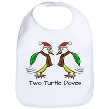 Two Turtle Doves Bib