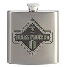 III Diamondhead Square Flask