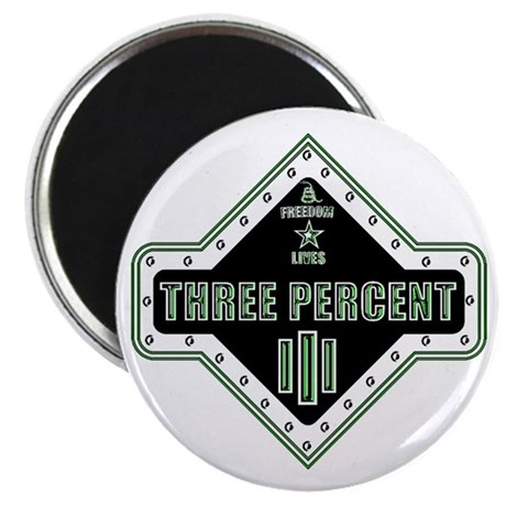 III Diamondhead Square Magnet