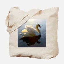 swan shirt Tote Bag