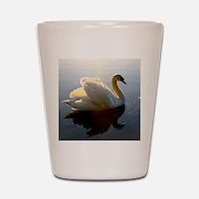 swan shirt Shot Glass