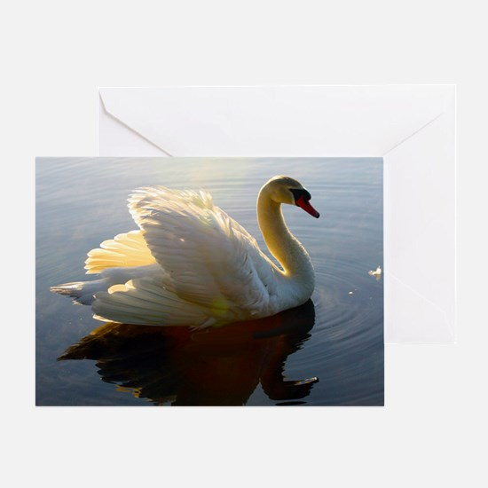 swan shirt Greeting Card